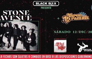 Stone Avenue se presentará en Black Box Tijuana