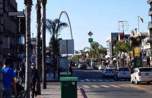 Postales urbanas un viernes de Covid-19 en Tijuana