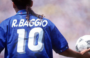 El astro italiano Roberto Baggio tendrá su peli documental en Netflix