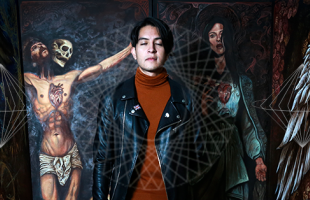 Dan Santino, el joven artista mexicano que crea mundos a partir de sus sueños