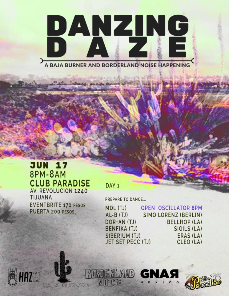 Danzing Daze: un festival para ver, escuchar y bailar