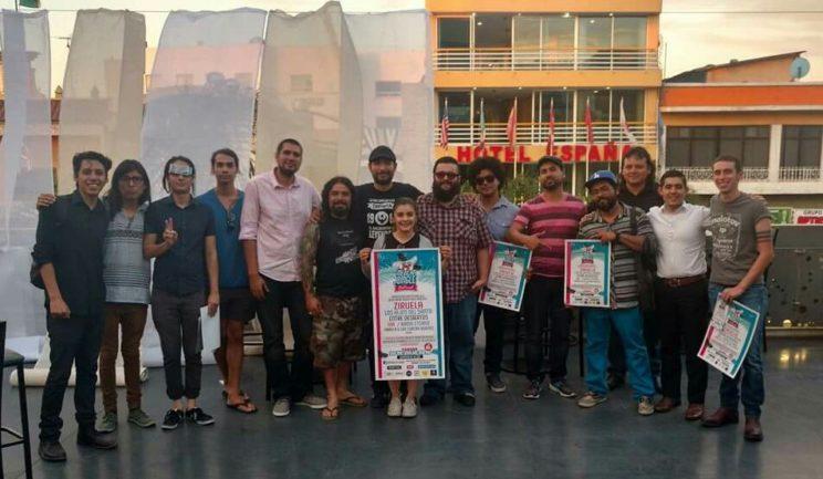 Fotografía vía Facebook @Hafid Hernandez The Band