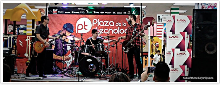 Sun of these days en el Concurso Nacional de Bandas 2016