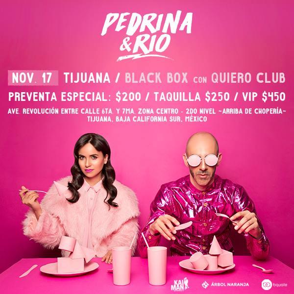 Pedrina y Río traen rumba a Tijuana