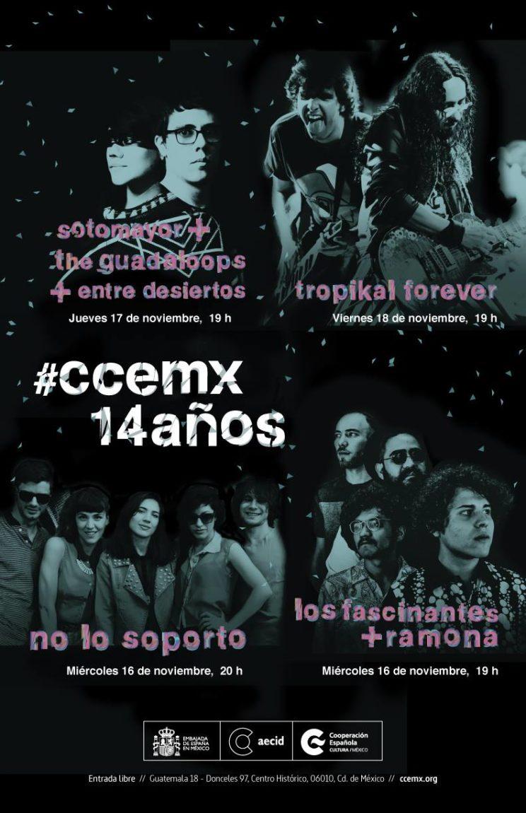Sotomayor+The Guadaloops+Entre Desiertos en el CCEMX