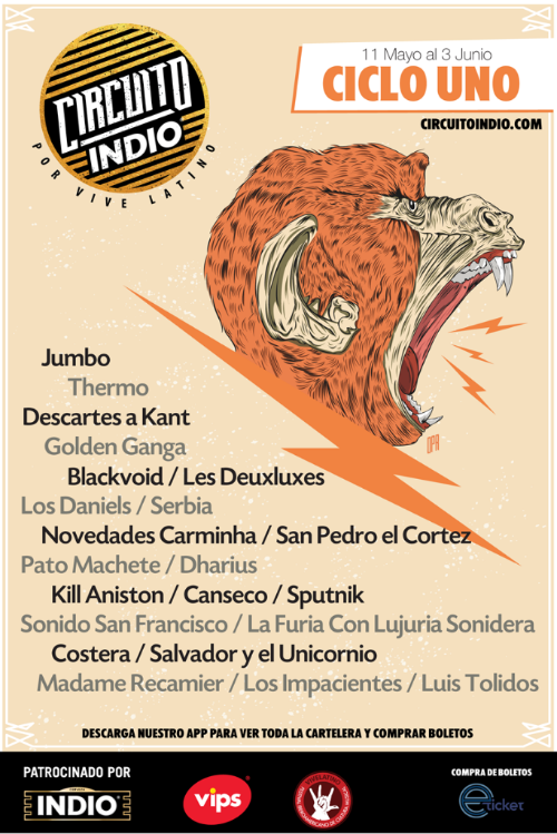 San Pedro el Cortez será parte de la gira Circuito Indio