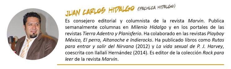 Juan Carlos Hidalgo - autor - Erizo.org