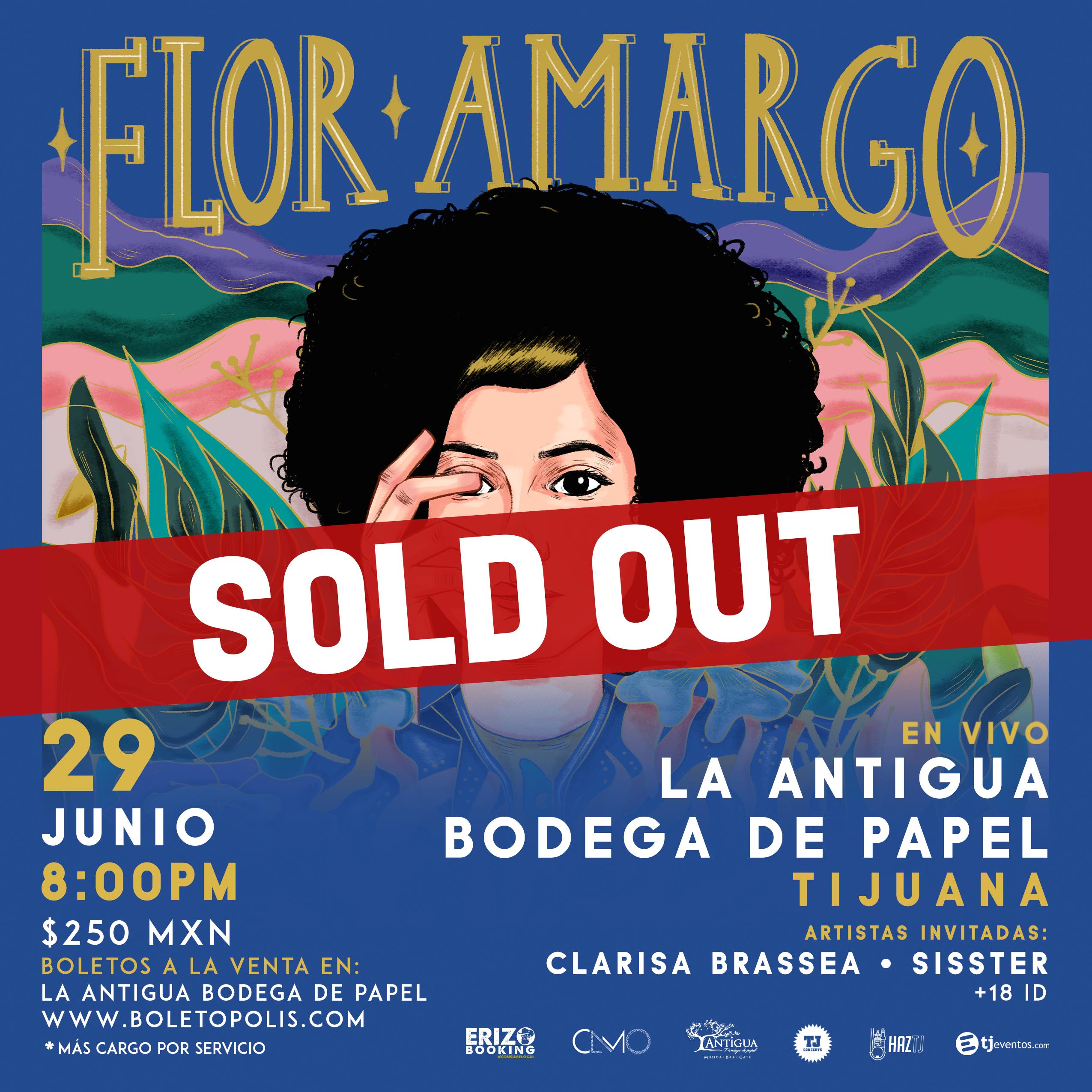 Flor Amargo SOLD OUT