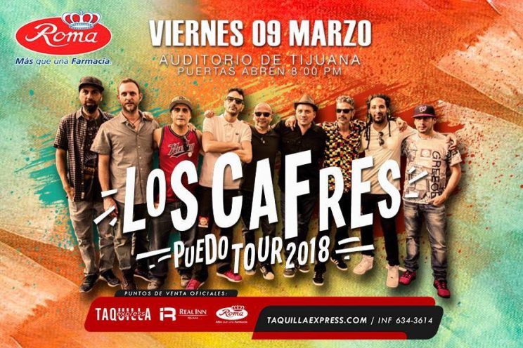 Los Cafres, una de las mejores bandas de reggae regresará a Tijuana