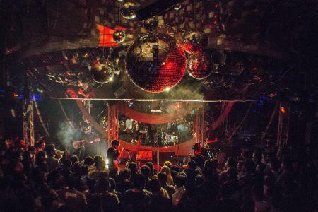 En la discoteca con CLUBZ