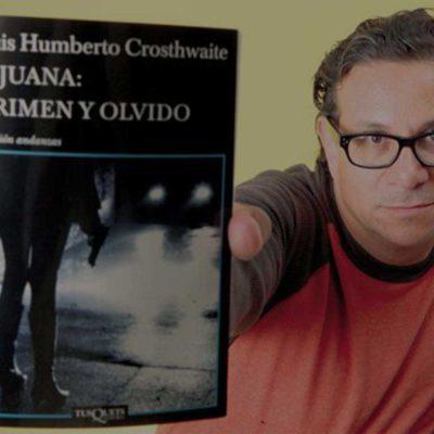 "Luis Humberto Crosthwaite comparte cuento ""Plumita consentida…"" en su propia voz"
