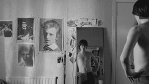 "Escena de ""Control"", película biográfica de Ian Curtis"