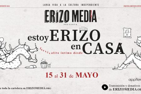 """Todo listo para el """"Festivalito Estoy Erizo en Casa"""""""