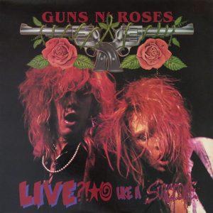 Portada del primer EP de los Guns
