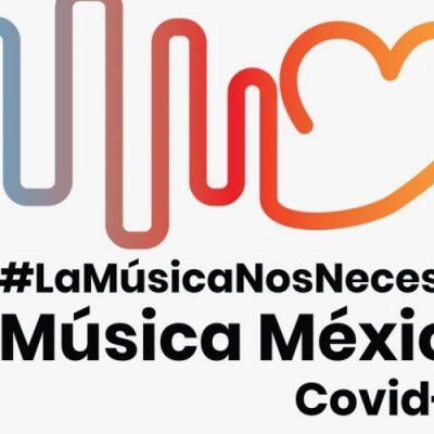 """La música nos necesita: nace """"Música México Covid-19"""", alternativa para el rescate de la industria"""
