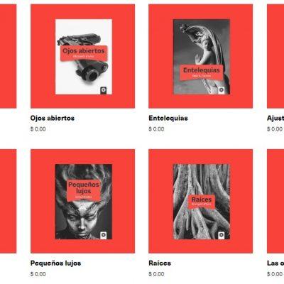 Editorial Paraíso Perdido comparte plaquettes de narrativa para descarga gratuita