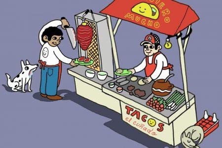 Tijuana y su multiculturalidad en las ilustraciones de Manuel Cabrera
