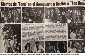 """Jim Morrison y The Doors; su visita a México, un concierto frustrado y una fumada en """"Los Pinos"""""""