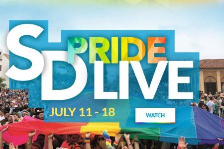San Diego Pride; Orgullo desde casa, arcoiris con espíritu virtual