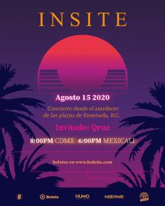 La banda mexicalense Insite presentará nuevo sencillo en su concierto online