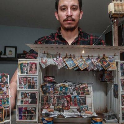 Yosafat Delgado, el artista que recrea espacios populares en miniatura