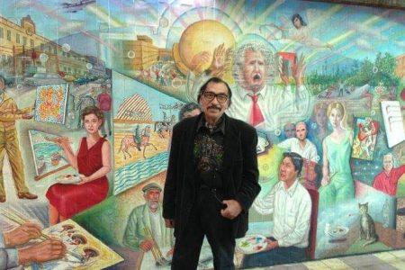 Fallece reconocido pintor tijuanense Manuel Varrona