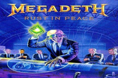 Se cumplen 30 años del 'Rust in Peace' de Megadeth
