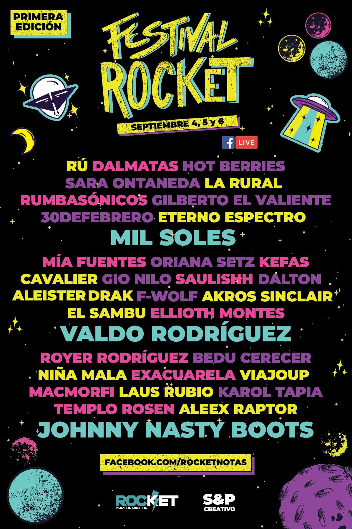 Todo listo para la primera edición del Festival Rocket
