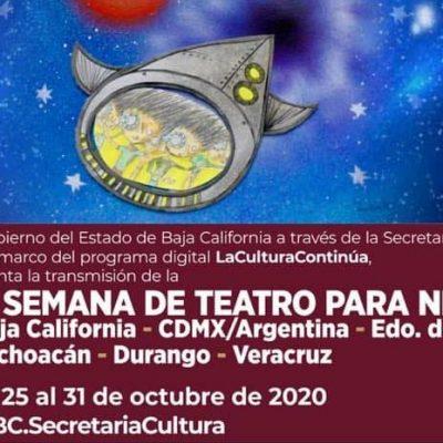 Se viene la Semana de Teatro para Niños en Baja California