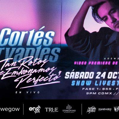 Luis Cortés Cervantes ofrecerá concierto vía streaming este sábado