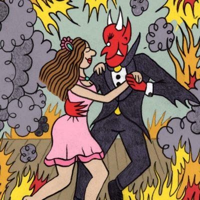 Yelram Selectah y Urbano Mata homenajean la leyenda de 'La mujer que bailó con el Diablo'