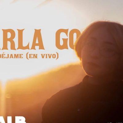 """Carla Go estrena su video en vivo """"Déjame"""""""